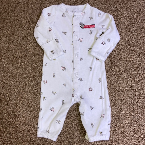 """12 Months 9 Carter/'s Baby Boys Two-Pack /""""BANANAS OVER MOMMY/"""" Romper Set 6"""